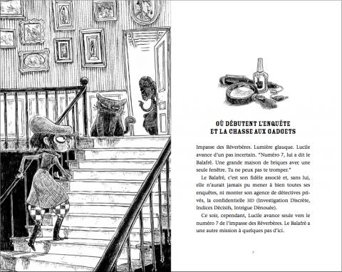 Lucile Finemouche chez Agatha Holmes